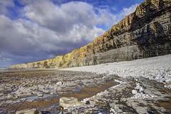 Honey in the rock (pauldunn52) Tags: cwm nash beach cliffs shore platforms glamorgan heritage coast wales rocks sand pebbles