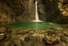 Kozjak waterfall (SKlandscape) Tags: kozjak waterfall slovenia landscape photography photographer forest walk path mountains cliff green long exposure nikon water autumn november woman trip holiday alps