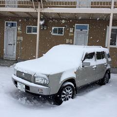 IMG_1841 (uki_cafe) Tags: japan hokkaido winter snow car nissan rasheen