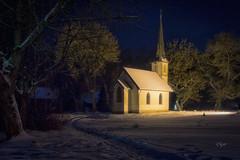 2017 Kleinste Holzkirche Deutschlands (jeho75) Tags: sony ilce 7m2 zeiss lzb harz germany deutschland elend kirche church nachtaufnahme nightview winter langzeitbelichtung