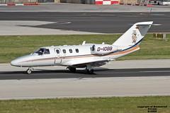 D-IOBB LMML 18-01-2017 (Burmarrad) Tags: airline private aircraft cessna 525 citationjet 1 plus registration diobb cn 5250665 lmml 18012017