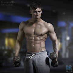 NFM Luke Blaylock (TerryGeorge.) Tags: natural fitness models abs sixpack muscle toned athletic working ripped arms legs shirtless teamm8 terry george fit sexy male underwear