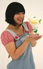 Treat Your Sweet To A Treat (emotiroi auranaut) Tags: happy beauty pretty girl woman lady smile smiling grin grinning icecream sundae banana syrup lovely cute adorable beautiful japan japanese asia asian face hair