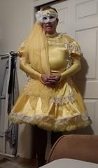 Yellow 4 (Maid Honey) Tags: sissy maid