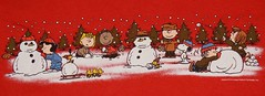 Peanuts Making Snowmen Graphic Tee Shirt (itstayedinvegas-4) Tags: graphicteeshirt peanuts charliebrown snoopy woodstock linus lucy peppermintpaddy snowman