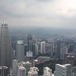 Kuala Lumpur mit Petronas Twin Towers