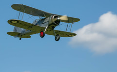 """Gloster Gladiator • <a style=""""font-size:0.8em;"""" href=""""http://www.flickr.com/photos/53908815@N02/18484930168/"""" target=""""_blank"""">View on Flickr</a>"""