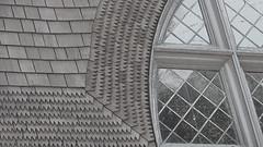 A10990 / sausalito presbyterian church (janeland) Tags: california windows architecture shingles architect desaturated sausalito 90 leadedglass oldenglishgothic 94965 ernestcoxhead sausalitopresbyterianchurch pe016 july2014 2014july