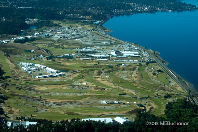 Chambers Bay Golf wide view