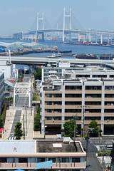 2 (  / Yorozuna) Tags: park bridge sea building japan port harbor seaside view yokohama kanagawa          yamate   apartmenthouse yokohamabaybridge    yokohamaport  harborviewpark    yokohamaharbor  largeapartment  pentaxautotakumar55mmf18