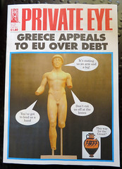 2015_06_240015 (t1) - Greek Euro crisis (Gwydion M. Williams) Tags: uk greatbritain england funny britain euro satire humor humour greece privateeye eurocrisis grexit greekeurocrisis