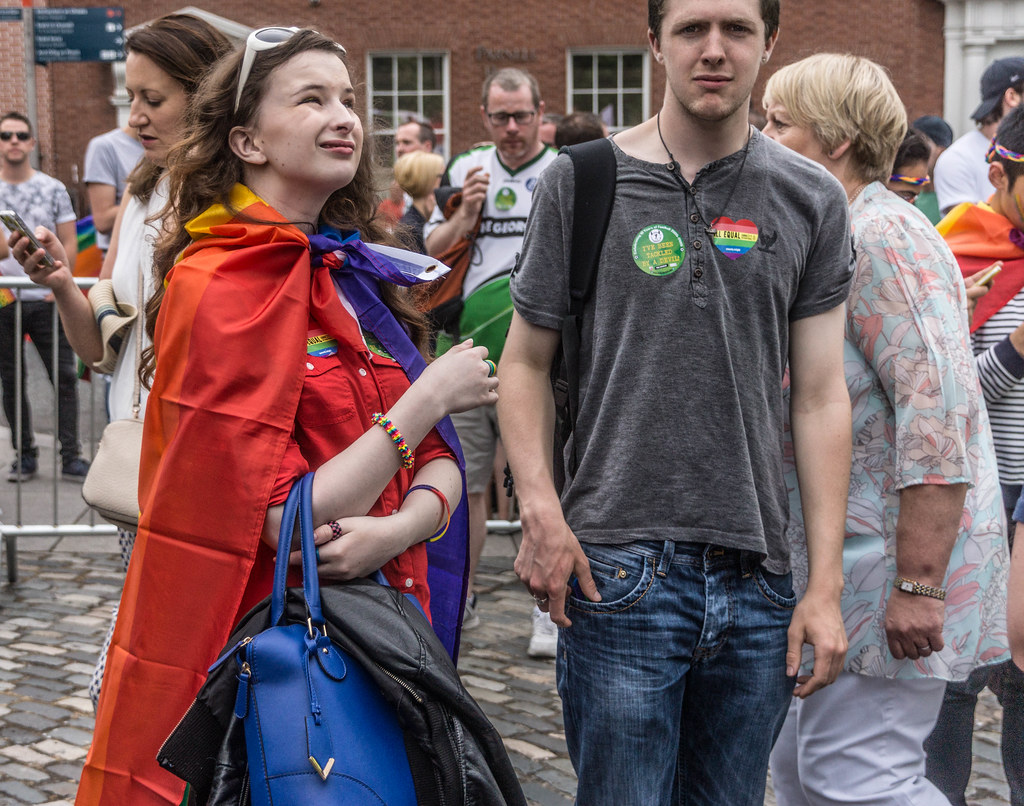 DUBLIN 2015 LGBTQ RRIDE PARADE [WERE YOU THERE] REF-105990