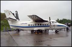53+09 - Rostock-Laage (ETNL) 04.07.1998 (Jakob_DK) Tags: 1998 let rostock rtg gaf luftwaffe germanairforce let410 l410 laage 5309 l410uvp letl410 etnl