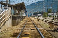 Chichibu Station (Jet Daisuke) Tags: railroad japan train rail railway saitama 秩父 埼玉県 秩父鉄道 chichiburailway 秩父市 荒川橋梁 あの花 親鼻鉄橋