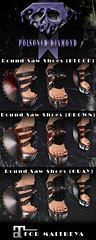 NEW EXCLUSIVE MESH SHOES!!! (Aude Adored) Tags: shop post mesh vampire goth clothes event secondlife end demon accessories exclusive vamp apocalyptic slphotography postapo meshaccessories secondlifeevent slgoth 3dstuff slshop meshclothes exclusiveitem poisoneddiamond audeadored