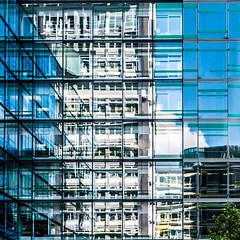 not to be confused (mahohn) Tags: windows reflection architecture facade fenster hamburg 11 fassade fujix10