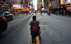 Manhattanhenge, 07.13.15 (gigi_nyc) Tags: nyc newyorkcity sunset manhattan streetphotography timessquare newyorkskyline nycskyline manhattanhenge