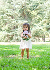 Little Danica and Family (charlenecasillas) Tags: park family 2 two portrait playing flower tree cute love girl beautiful grass portraits fun photography 50mm nikon toddler action memories captured adorable baptism stroll cha playdate 200mm terribletwos
