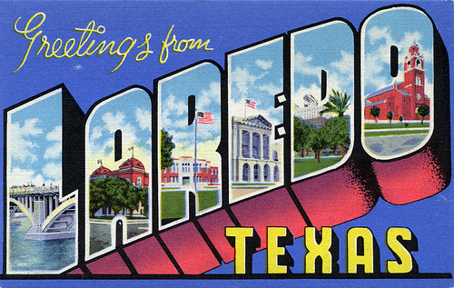 Greetings from laredo texas large letter postcard a photo on greetings from laredo texas large letter postcard m4hsunfo