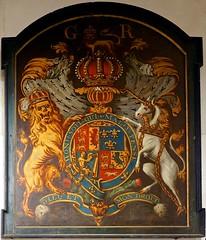 P71821632 (simonrwilkinson) Tags: church warwickshire stpeter royalarms woottonwawen