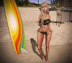 #LOOK161 (Gabriela Lytham) Tags: summer sexy beach beauty blog store truth mesh style blogger sl secondlife maitreya slink cremosas