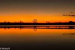 Reflecting the end of the day (matt.barber09) Tags: trees sunset orange sun night reflections stars lights evening colours peace calming silouette serene starlight waterriverssunsetpeace