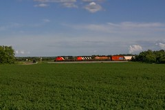 A44791-20 ('Sconsin Cental) Tags: green wisconsin cn train river bay afternoon bc sub 8 rail canadian dash national valley fox zebra wi freight emd sd402 wrightstown sd402w c408m a447