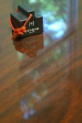 Paperweight (btusdin) Tags: week2 paperweight 7daysofshooting blackandorwhite contrastthursday flickrbingo4g60