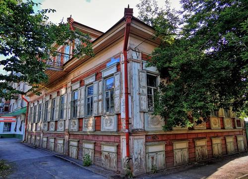 Деревянный дом, XIX в. Тюмень