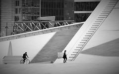 Light and Shadows (ToSti NL) Tags: stairs escaleras oslo norway people bw blackwhite noiretblanc nikond80