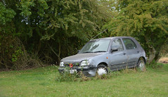 Not going anywhere (Jacqueline138Kelly) Tags: overgrown car nikon transport dereliction projectflickr jacquelinekelly d5200 18250macro