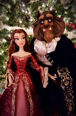 Enchanted Christmas (ozthegreatandpowerful) Tags: disney store limited edition ds le beauty andthe beast doll dolls 2016 winter belle something there
