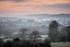 Brume crépusculaire (Bertrand Thiéfaine) Tags: d750 campagne hiver oudon sigma150600s brume crépuscule loireatlantique loire arbres paysage