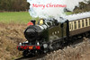 Merry Christmas (Roger Wasley) Tags: 4270 tank locomotive gwr gwsr gloucestershire warwickshire steam railway train cotswold festival