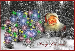 I STILL BELIEVE ... (Aspenbreeze) Tags: colorado winter grandmesa snow santaclause christmas believe merrychristmas santa christmaslights bevzuerlein aspenbreeze moonandbackphotography