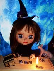 Blythe custom Magic, tarot. Magia witch bruja