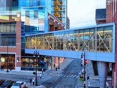 Greektown, Detroit, Michigan (duaneschermerhorn) Tags: walkway pedestrian pedestrianwalkway elevated street casino