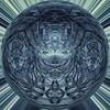 Epsom blue stack x 9 mirror square distort 20170104 for Sliders Sunday (superdavebrem77) Tags: macro mirror distorted rorschachpattern orb monochromatic crystal hss sliderssunday bluedye