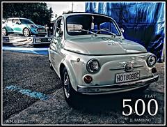 """# FIAT 500 """"il bambino"""" (1957 - 1975).. (A.M.G.1969) Tags: amg aplicacióndelacámara fiat 500 4ruedas car clasicos coches expos amg1969"""