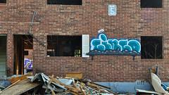 DSC_1575 (rob dunalewicz) Tags: 2017 atlanta abandoned urbex graffiti tags cinco lsd aub