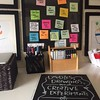 So important to have a space for creative work - sneek peek of mine #workspace #creating https://t.co/t4JAol5ldt (One Squiggly Line) Tags: visualthinking creativity drawing design handdrawn illustration