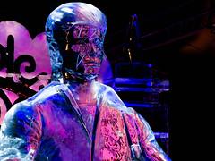 David Bowie 3 (Jan Enthoven) Tags: davidbowie statues kunst art muziek ice gitaar ijsbeelden ziggystardust amsterdam guitar