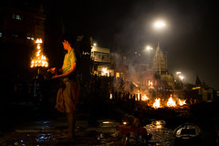 Circle Of Life (subodh shetty) Tags: varanasi india incredibleindia banaras kashi burning ghats manikarnika life death aarti ganges ganga holy rituals