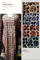 New Arrival!! Original Batik Pekalongan Indonesia  ✔Limited Stock ✔Available on store  LONGDRES KALONG KRIWIL 7/8  Material : Rayon Size        : Allsize Color      : on pict Price      : IDR 65k  Contact & Online Order : ☎Phone/Line/w.a/Telegram +6289716 (indahjaya_batik) Tags: trendbatik batikindonesia batikupdate bajubatik ijbatik batikpekalongan batik batikhalus blouse kainbatik blus batikjourney blustrikot dressbatik busanabatik dress
