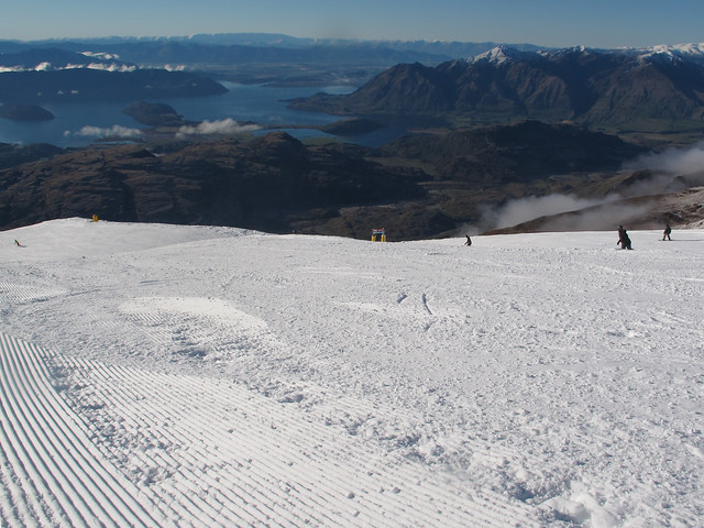 Top of Main Street#2 - Treble Cone, Wanaka NZ (4 August 2014)