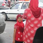 malaiisches Mädchen, Dungun