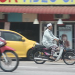 Motorradfahrer, Dungun