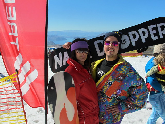 Carol Knudson & Mike Gallagher from Cheapskates, Wanaka