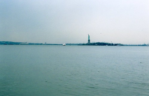 Statue of Liberty, from Battery Park