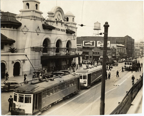San Francisco: Former Southern Pacific Depot at 3rd and Townsend Streets, 1941
